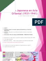 Expansión Japonesa en Asia Oriental (1931-1941)