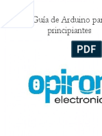 Guia de Arduino Para Principiantes