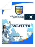 Estatuto UNAMBA 2017 Rev