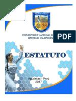 Estatuto UNAMBA 2017 Rev