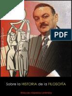 Andréi Zhdánov; Sobre la historia de la filosofía, 1947