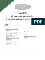 Psicología humanista y la jerarquía de las necesidades