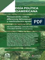 Ecología Política Latinoamericana. Tomo i. Clacso. 2017