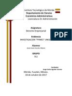 Investigacion Pymes Unidad 3 Derecho