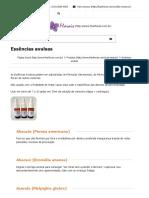 Essências Avulsas - Lilás Florais e Fitoterápicos