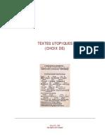 27406559 Http Www Neotrouve Com TEXTES UTOPIQUES