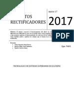 Circuitos Rectificadores (Practica#1)
