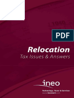 Altair 2015 Relocation Tax Issues & Answers