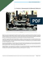 Aprovado Plano de Cargos e Carreiras e Remuneracao Da Defensoria Publica Do Estado
