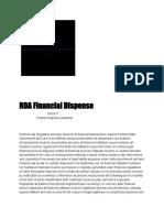 RDA Federal Guideline