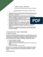 Resumen metodologia de la inv en psicologia