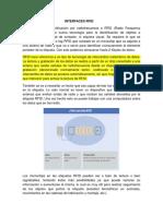 Interfaces RFID