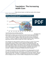 The Aging Population the Increasing Effects on Health Care