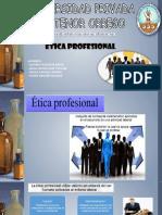 Diapositivas Etica Profesional