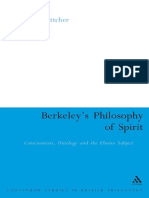 Bettcher - Berkeley's Philosophy of Spirit. Consciousness, Ontology and the Elusive Subject