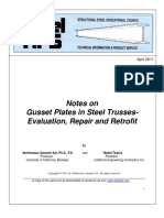 2011-04-Notes on Gusset Plates in Steel Trusses-Evaluation, Repair and Retrofit.pdf