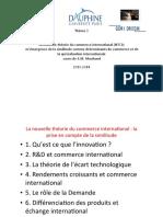 La Nouvelle Théorie Du Commerce Interenational.pptx