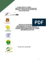 Proyecto de Cadenas Agroalimentarias