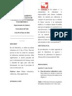 Informe Medida y Tratamiento Estadístico de Datos de Calibración de Un Matraz Volumétrico 2014-II Final