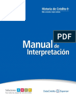 Manual de Interpretacion de Datacredito