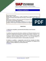 Trabajo Académico de Derecho Comercial II
