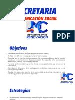 Estrategia de comunicación Social