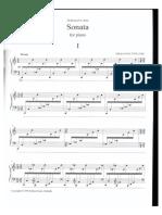 E.S. Tuur - Sonata for Piano (1985)