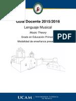 Lenguaje Musical Presencial