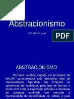 Abstracionismo 2º Ano