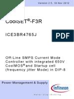 Infineon ICE3BR4765J DS v02 05 En