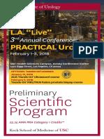 Program Practical Urology USC 2018