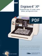Engrave ItTM XP Brochure