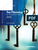Tax Planing 2014