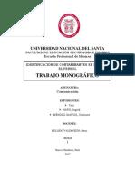 Identificación de Contaminantes en La Bahía Del Ferrol