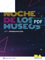 Programación La Noche de Los Museos 2017