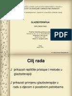 Glazboterapija