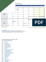 Calendario Semanal 2017 Nov Dic