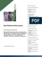 Best Wellness Hotels Austria