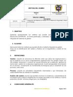 GMC-PRD-06 PROCEDIMIENTO GESTION DEL CAMBIO vs02.doc