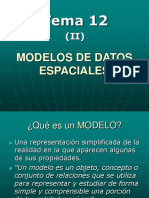 (Tema 12b) Modelos de Datos Espaciales