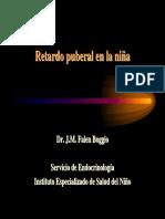 RETARDO PUBERAL EN LA NIÑA