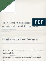 Clase3. Funcionamiento e interconexion del computador.pdf