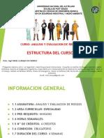 1 Estructura Del Curso Analisis y Evaluacion de Riesgos