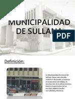 Municipalidad de Sullana