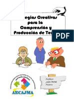 ESTRATEGIAS PARA LA COMPRENSIÓN Y PRODUCCIÓN DE TEXTOS