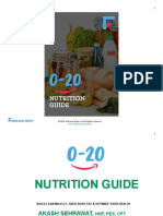 Nutrition Guide 0 20