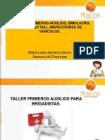SEGURIDAD VIAL 2016- PRIMEROS AUXILIOS.ppt