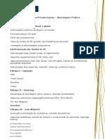 Programa Private Equity Abordagem Pratica Ibmec Rj