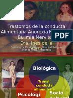 TRANSTORNOS DE LA CONDUCTA ALIMENTARIA