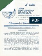 Enseñanza de La Sede Central, Papelitos Dominicales